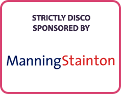 Strictly Disco Sponsored By..