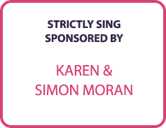 Strictly Sing Sponsored By..